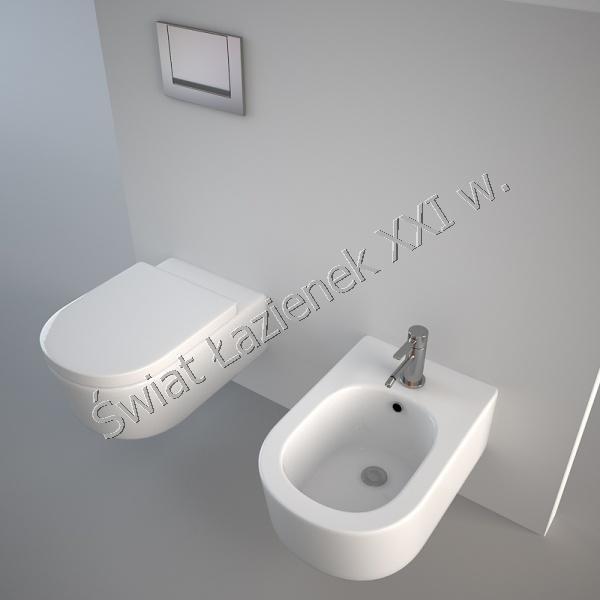 Flaminia link wc wisz cy bia y 56 cm 5051 wc wiat azienek xxi w - Wc model ...