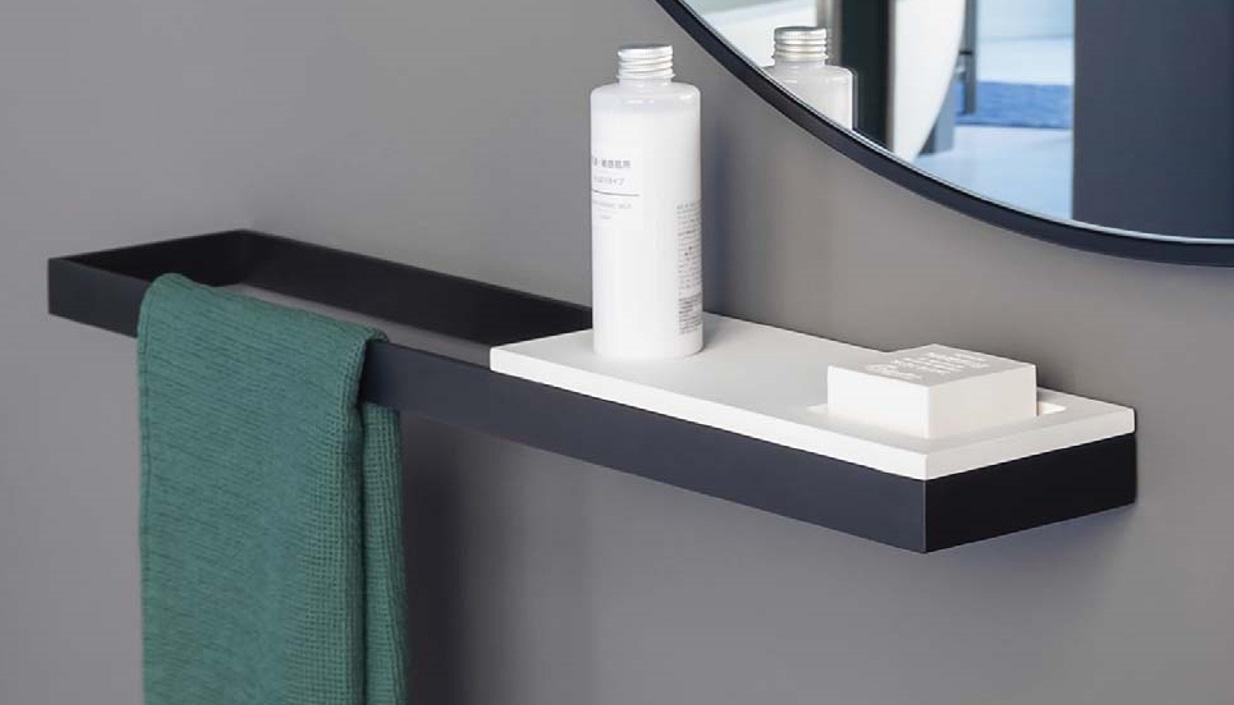 Cielo Półka 12x30cm Biały Acm30 świat łazienek Xxi W