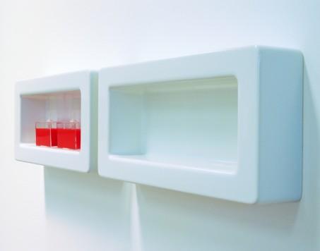 Flaminia Frame Półka Ceramiczna 60x30x12cm Biała Fr30 świat