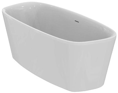 ideal standard dea wanna wolnostoj ca owalna 170x75 cm. Black Bedroom Furniture Sets. Home Design Ideas