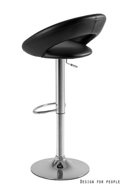Unique Carino Krzesło Obrotowe Czarne 2 28 4 świat łazienek